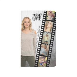 Make Your Own Senior Portrait Retro Film Negative Journal