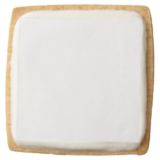 Make Your Own Set of 4 Square Shortbread Cookies Square Premium Shortbread Cookie