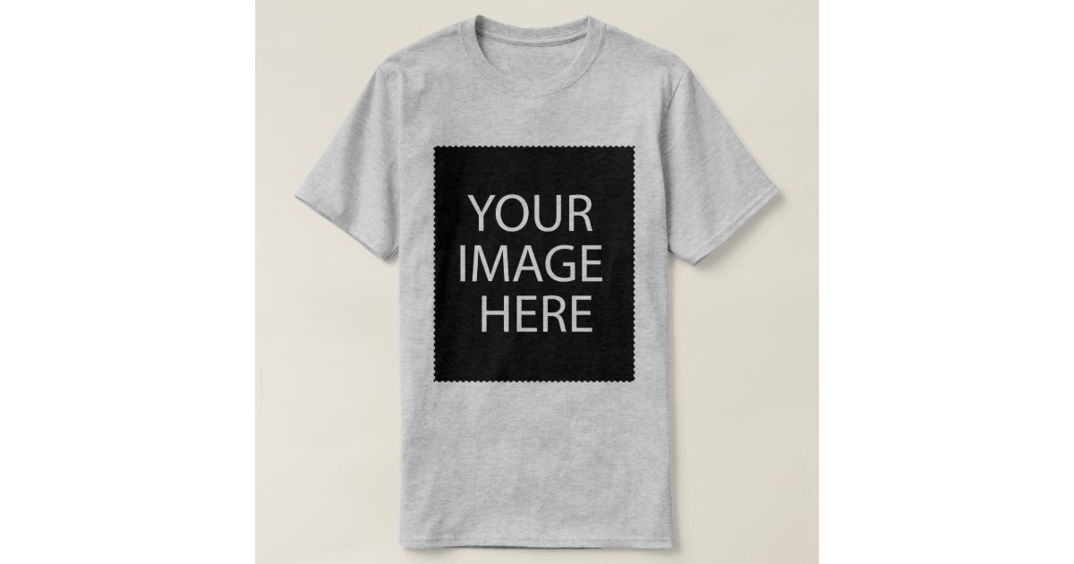 Make your own shirt add text art or pictures t shirt for Create your own t shirt with picture