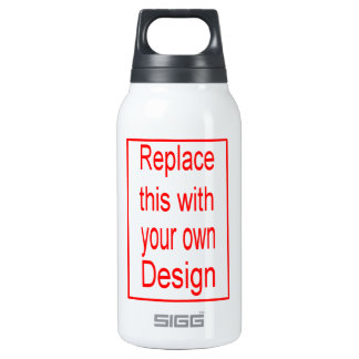 Make your own 10 oz insulated SIGG thermos water bottle