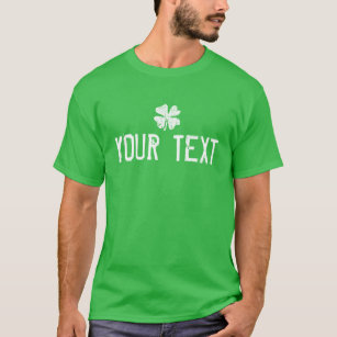 facc5e8a8 Make your own St Patricks Day shirt with shamrock