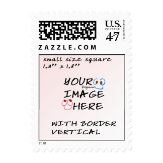 Make your own Stamps- Small Postage Vertical