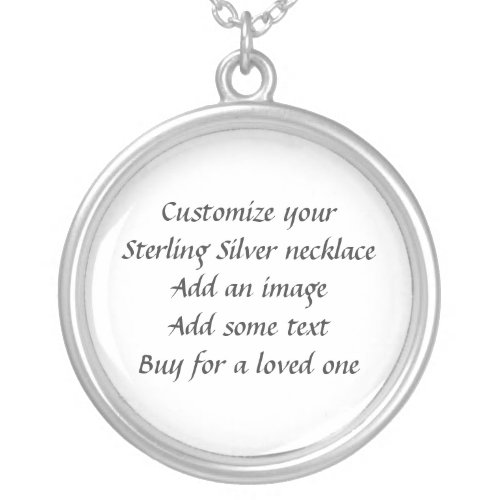 Make your own Sterling Silver Necklace necklace