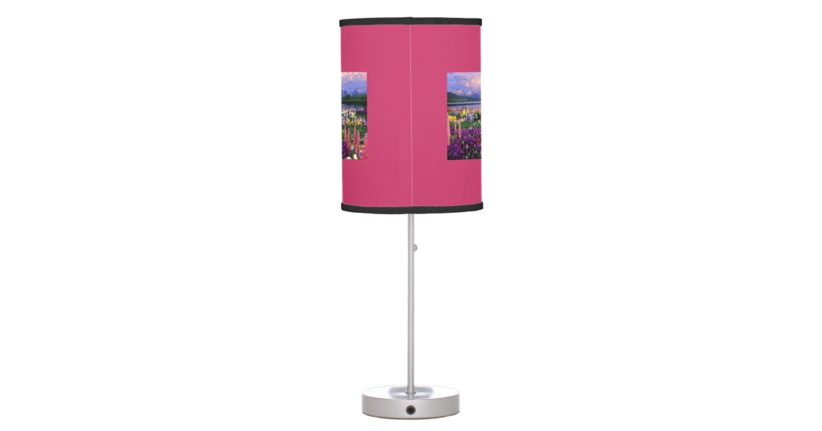 make your own table lamp zazzle. Black Bedroom Furniture Sets. Home Design Ideas