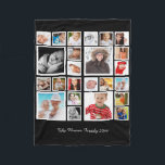 """Make Your Own Unique Personalized DIY Custom Fleece Blanket<br><div class=""""desc"""">Make Your Own one of a kind unique Personalized DIY Custom photo collage fleece blanket from Ricaso .. ideal for keepsake gift ideas</div>"""