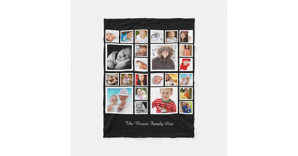 Make Your Own Unique Personalized DIY Custom Fleece Blanket Zazzle TOmi0DTz