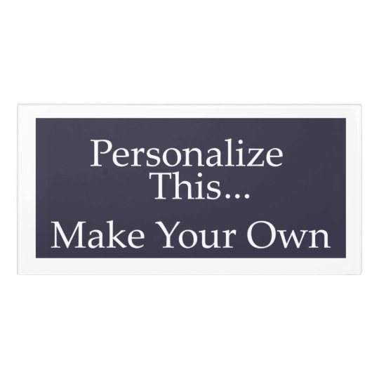 Make your own unique personalized door sign zazzle for Post office design your own stamps