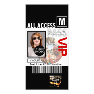 Make Your Own VIP Pass 8 ways to Personalize Card