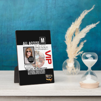 Make Your Own VIP Pass 8 ways to Personalize Plaque