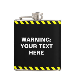 Make your own warning message flask