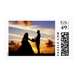 Make Your Own Wedding Photo Postage Stamp