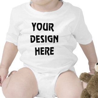 Make Your Own White Infant-Baby Bodysuit-Creeper