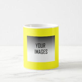 MAKE YOUR OWN YELLOW - PHOTOS COFFEE MUG