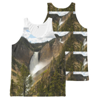 MAKE YOUR OWN Yellowstone ALLOVER PRINT LADIES TEE