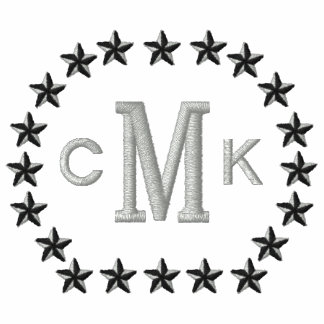 Make Your Personalized Monogram Stars Embroidery Embroidered Shirt