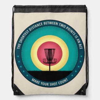 Make Your Shot Count Drawstring Backpack