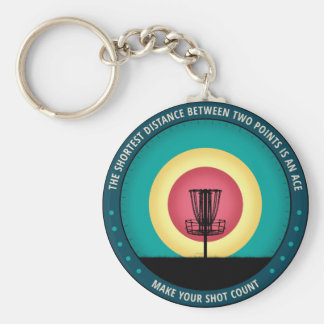 Make Your Shot Count Keychain