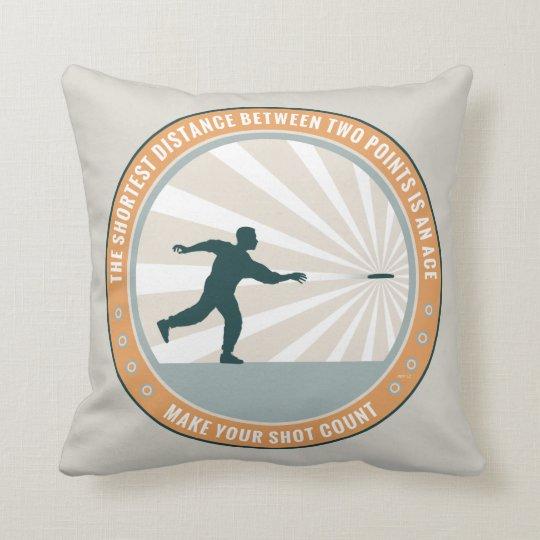 Make Your Shot Count Throw Pillow