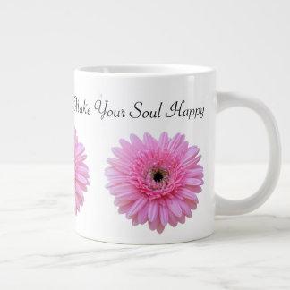 Make Your Soul Happy   Jumbo Mug