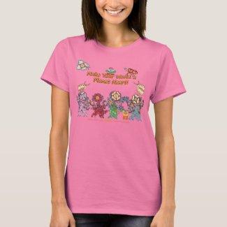 Make Your World A Planet Heart! (TM) shirt