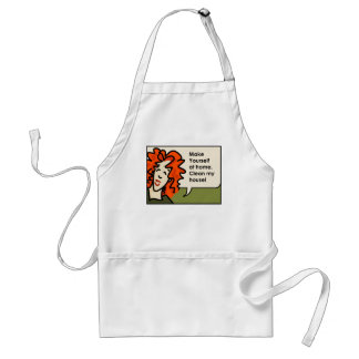 Make yourself at Home Adult Apron