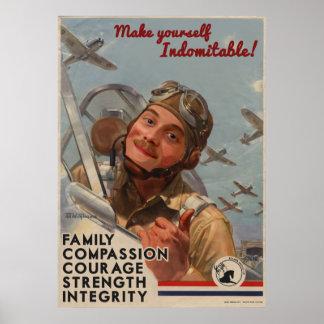 Make Yourself Indomitable! Poster