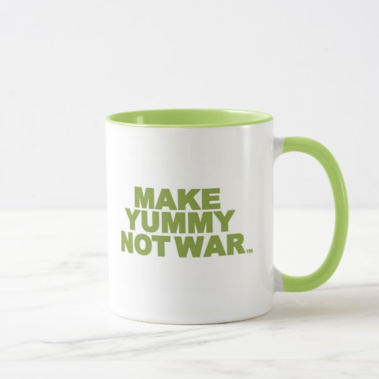 Make Yummy Not War Mug