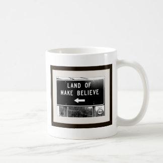 makebelieve2.jpg classic white coffee mug