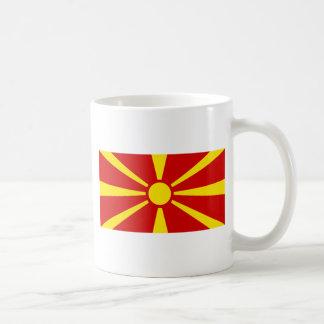 Makedonija zastava coffee mugs