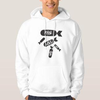 makelove suéter con capucha