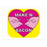 Make'n Bacon Postcards