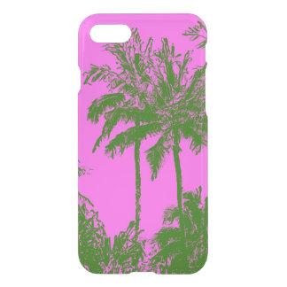 Makena Beach Hawaiian Sketchy Palms iPhone 7 Case