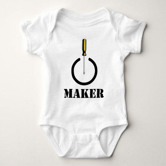 Maker Logo Baby Bodysuit