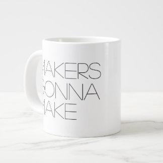 Makers Gonna Make (lefty) Jumbo 20 oz Ceramic Mug