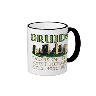Makers of the Finest Henges Ringer Mug