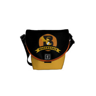 #MakerspaceBKS Messenger Bag
