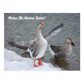 Makes Me Wanna Dance! Postcard