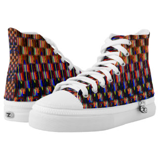 Makes You Feel Alive Hi-Top Printed Shoes