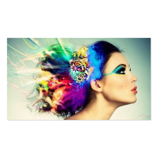 Makeup and Hair Design Double-Sided Standard Business Cards (Pack Of 100)
