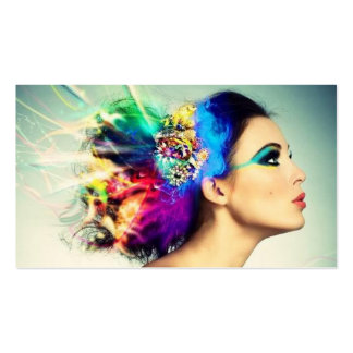 Makeup and Hair Design Business Cards