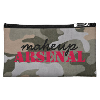 Makeup Arsenal: Gear Bag Beauty Pros- pink, camo
