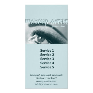 MakeUp Artist 1 - Photocard, Services Card