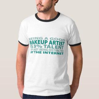 Makeup Artist 3% Talent T-shirt