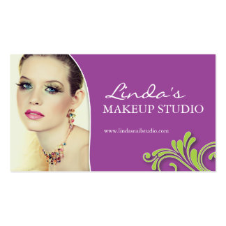 MAKEUP ARTIST APPOINTMENT CARD BUSINESS CARD
