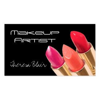 Makeup Artist Beauty Business Card