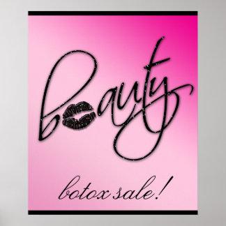 Makeup Artist Beauty Cosmetic Retail Salon Poster