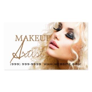 Makeup Artist Beauty Cosmetology Salon Business Card