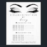 "Makeup Artist Beauty Glitter Price Black White Flyer<br><div class=""desc"">florenceK luxury beauty salon colletion</div>"