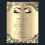 "Makeup Artist Beauty Salon Glitter Flyer Prices<br><div class=""desc"">florenceK luxury beauty salon colletion</div>"