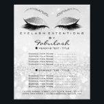 "Makeup Artist Beauty Salon Glitter Flyer Silver2<br><div class=""desc"">florenceK luxury beauty salon colletion</div>"